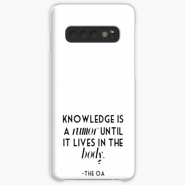 knowledge is a rumor Samsung Galaxy Snap Case