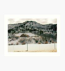 """""""Winter in Utah"""" Art Print"""