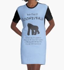 The Gorilla, at Bob Fossil's Zooniverse Graphic T-Shirt Dress