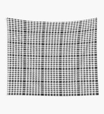Classic Hound's Tooth pattern Wall Tapestry