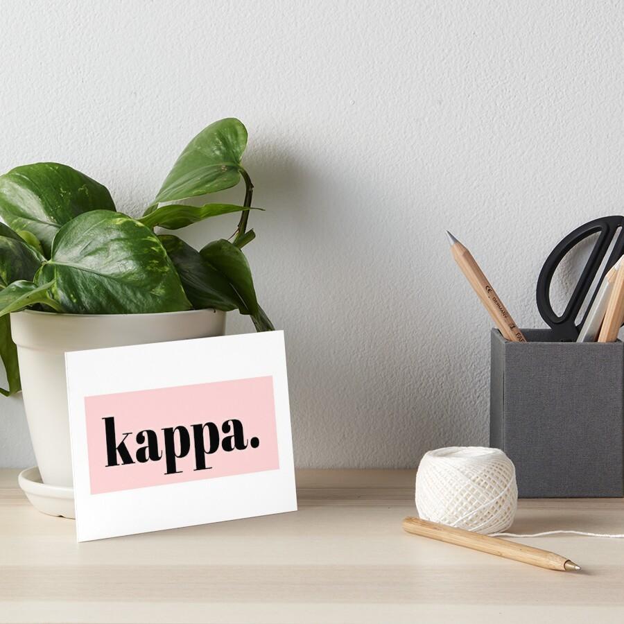 kappa by c. elizabeth