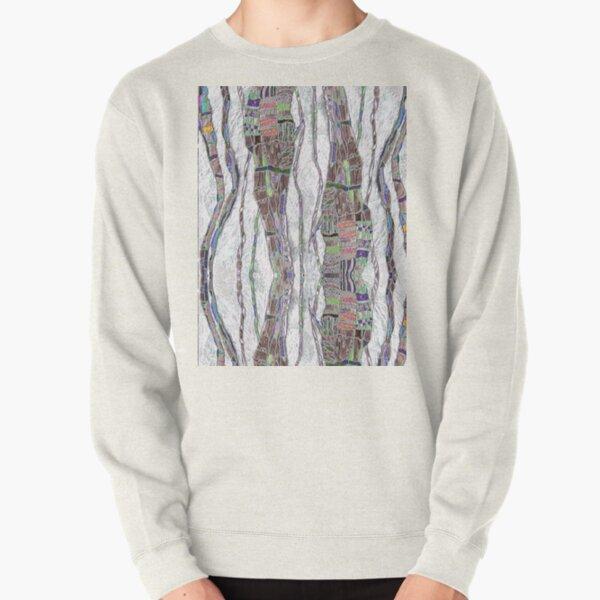 Mental Maps Series:  Threads Pullover Sweatshirt