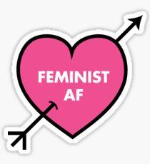 Feminist AF Stickers Sticker