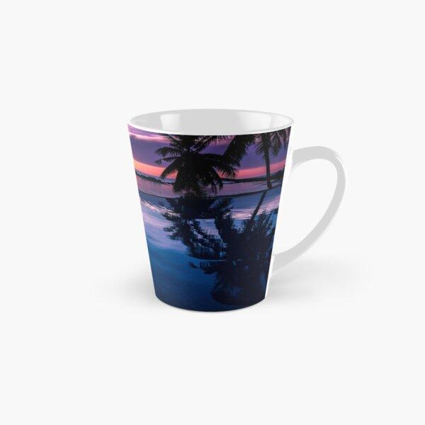 Tropical sunset pool Tall Mug