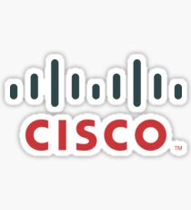 Cisco Logo Merchandise Sticker
