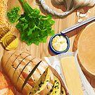 Still Life with Garlicoin by Julia Lichty