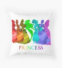 Princess Power Throw Pillow