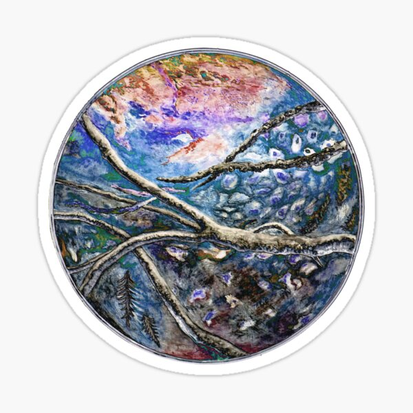 Salish Sea Circle of Life Sticker