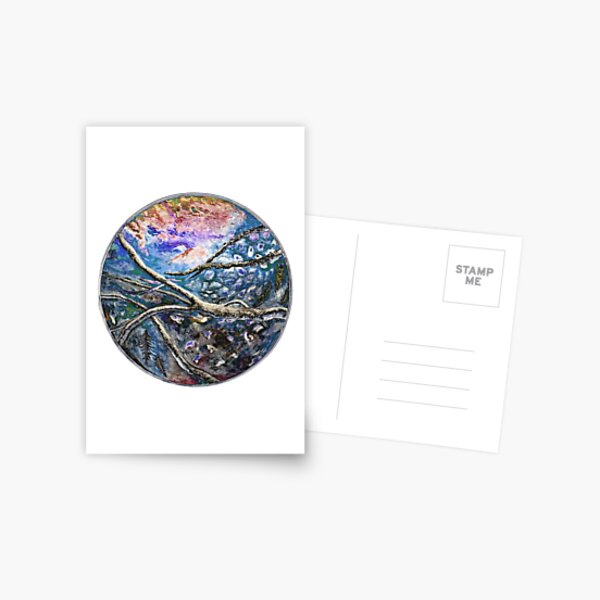 Salish Sea Circle of Life Postcard