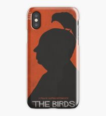 The Birds, alternative poster, printable, Alfred Hitchcock, Rod Taylor, Tippi Hedren, movie poster, retro poster, Saul Bass style Vinilo y funda para iPhone