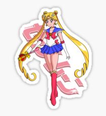 Sailor Moon - Moon Cosmic Power MAKE UP! Sticker