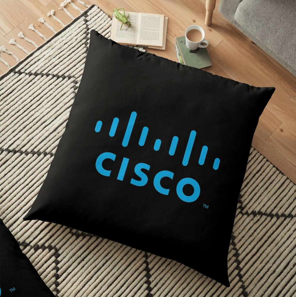 Cisco Systems Logo Merchandise Floor Pillow
