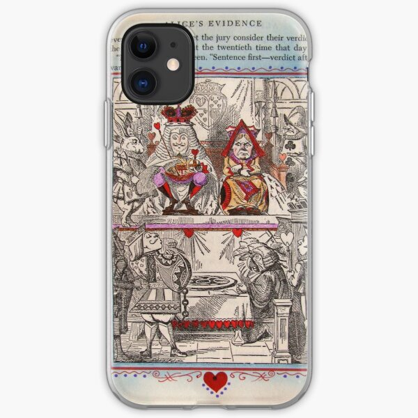 The King and Queen of Hearts iPhone Soft Case