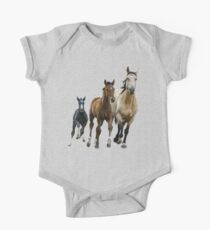 Horses are my Friends One Piece - Short Sleeve