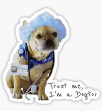 Trust me, I'm a Dogtor Sticker