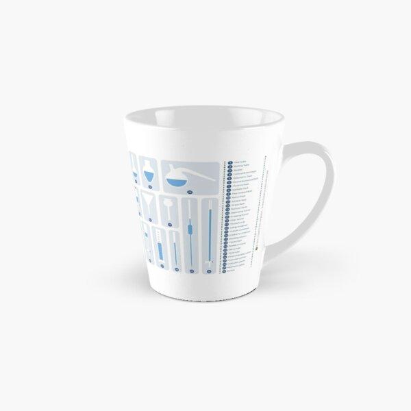 Chemistry Laboratory Glassware Tall Mug