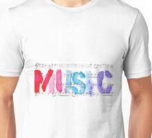 purple MUSIC Unisex T-Shirt