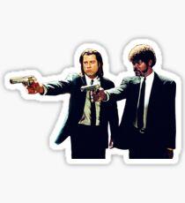 Vincent und Jules Pulp Fiction Sticker