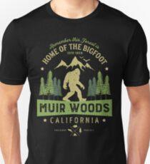 Muir Woods National Monument T Shirt California Bigfoot Park Unisex T-Shirt