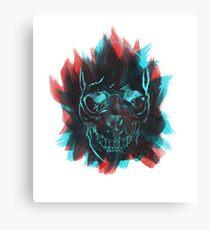 Fashion Skull Art  Canvas Print
