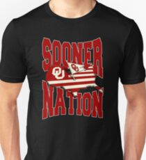 boomer sooner is the fight song for Oklahoma Unisex T-Shirt