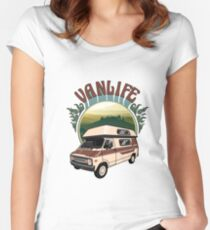 Van Life in Tuscany Women's Fitted Scoop T-Shirt