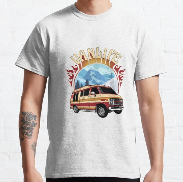 Snowy Van Life Classic T-Shirt