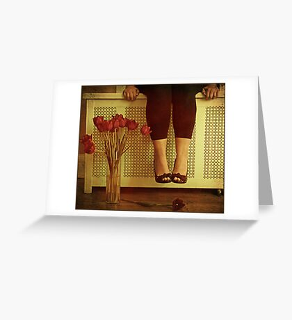 fifteen tulips Greeting Card