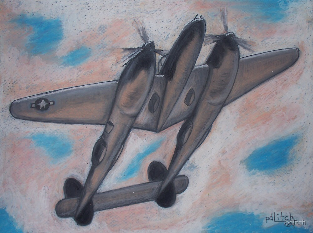 p38 Lightning -- WWII Fighter by pdlitch