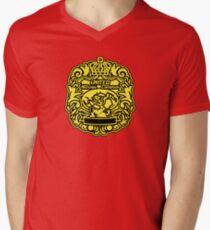 AJPW Triple Crown Belt V-Neck T-Shirt