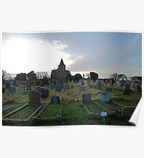 St Oswalds Churchyard Poster