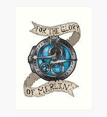 For the Glory of Merlin Art Print