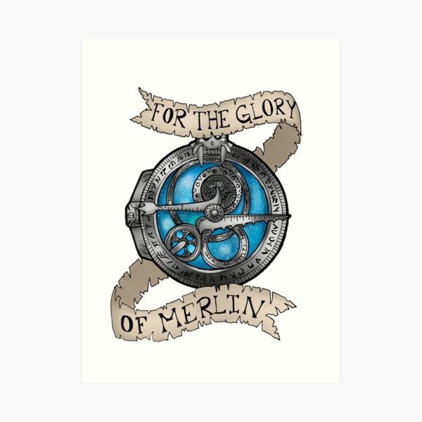 For the Glory of Merlin Art Print