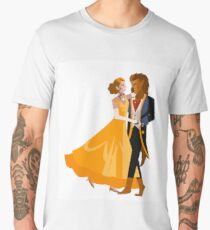 beauty and the beast faity tale Men's Premium T-Shirt