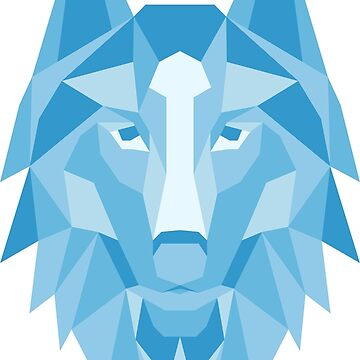 Ice Wolf by ThugPigeon
