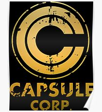 Capsule Corp Poster