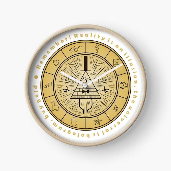 Bill Cipher Gravity Falls Clock