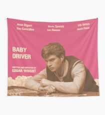 Baby Driver Wall Tapestry