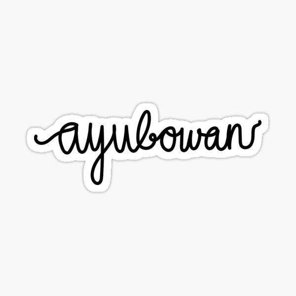 Ayubowan Sticker