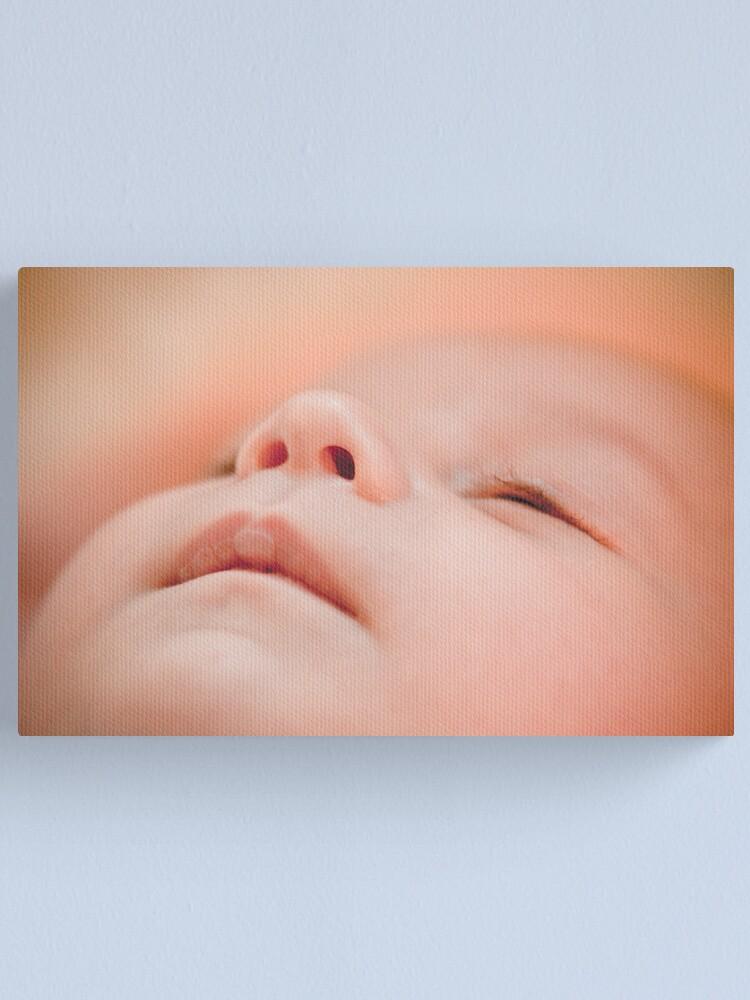 Alternate view of Still asleep.... Canvas Print