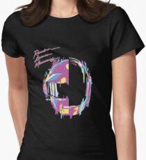 Daft Punk — RAM Remix Women's Fitted T-Shirt