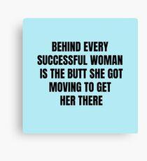 Successful Woman Canvas Print