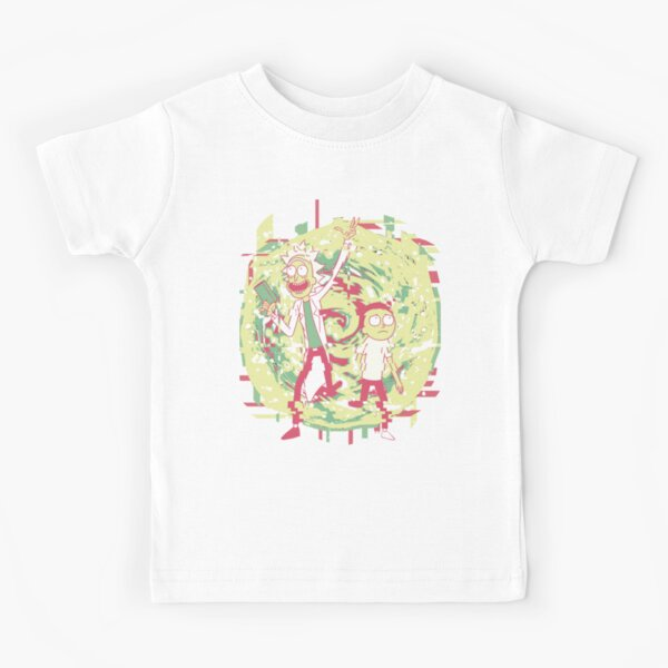 Rick And Morty — Into the Void Kids T-Shirt