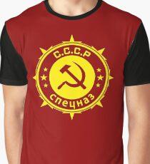 Insigne communiste spetsnaz Graphic T-Shirt