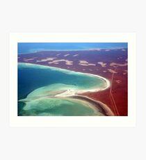 """Shell Beach"" Shark Bay, Western Australia Art Print"
