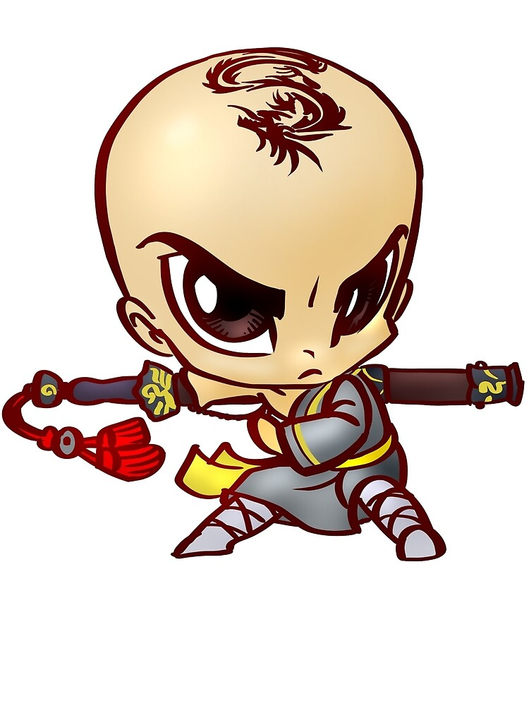 chibi monk by Figment Forms