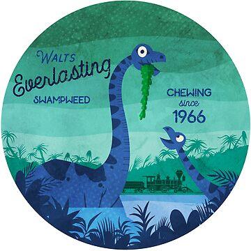 Everlasting Swampweed de Walt - Masticar desde 1966 de goldsberryart