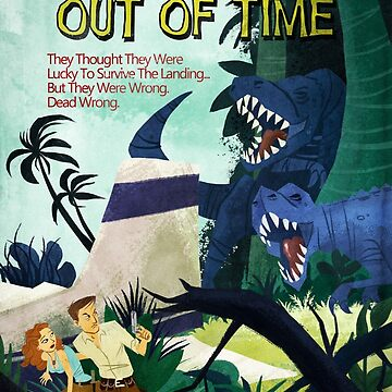 Paperback the Game - A Land Out of Time de Fowers Games de goldsberryart