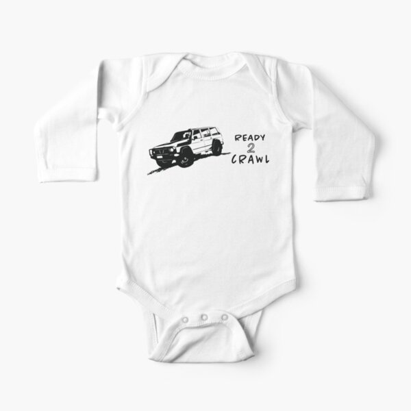 Patrol - Ready To Crawl - Nissan Long Sleeve Baby One-Piece