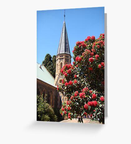 God's glorious flora (Uniting Church, Bacchus Marsh) Greeting Card